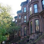 Typical Brookly brownstones