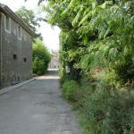 Lane outside Gite