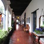 Front Hallway of the Hacienda