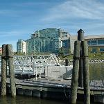 National Harbor, Gaylord Conv Ctr from water taxi to Alexandria