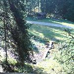 Abenteuerspielplatz vom Hochsitz aus