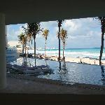 View of Beach from Sun Palace