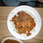 Bruchetta dish