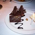 The Brooklyn Bridge dessert at River Cafe