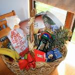 Hamper in the kitchen
