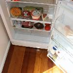 Stocked fridge - so much food