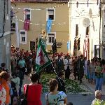 Festive procession in Luso