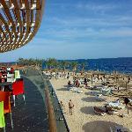 spiaggia del Blue Bay