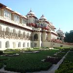 Outside view of the hotel/palace