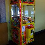 Toy machine at the camp