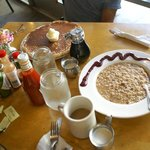 Porridge & Pancake @ Cafe on Park