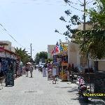 Shopping in Kamari