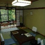 Room in modern building at Takaragawa Onsen
