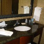 Bathroom, bring a hand mirror!