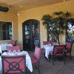 Patio Dining at Enoteca