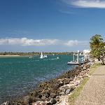 Noosa River, minute walk from Metzo