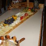Zum Schluß : Käseplatte