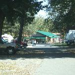 View towards the Campground Store