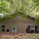 The back of Wildflower Cottage at The Chimney Rock Inn 10-18-08