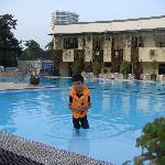 Mega swimming pool