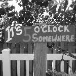 It's 5 O'clock always here!