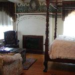 Another of the guest rooms in the main house