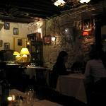La Volcan restaurant, steps away