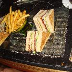 Club sandwich au bar