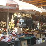 A sampling of the items for sale at the Porta Portese Market.