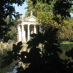 aperçu dans le parc de la Villa Borghèse
