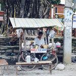Pokhara - Mobile Tea Shop