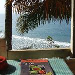 View from Tibetan restaurant, Hill Top Beach