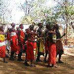 Samburu dance tribe