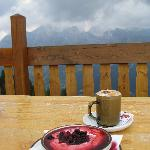 ...and the dessert! (La Ciasela, at 2032 m)