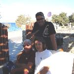 Friendly staff (Antonios and his parents)