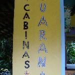 Sign for Hotel Guarana