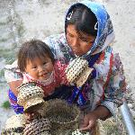 Tarahumara Indians in Copper Canyon