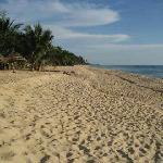 Gorgeous beach just feet away from Cassia