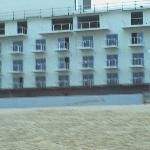 New Marriott, taken from beach.  Apears to be nearly finished