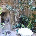 La Cordiere Courtyard
