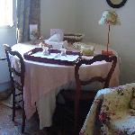 Dining in the Pink Room