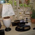 Window display at Black Eagle Cottage