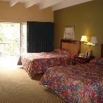 View of room. 2 queen beds