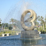 Kemer fountain, 23 October 2008