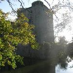 The castle and the moat