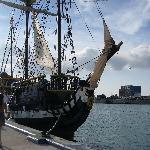 Pirate ship sunset cruise
