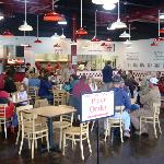 Dining Room of Five Guys in Lynchburg