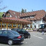 Haupthaus mit Restaurant