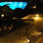 Nice & romantic night view of the Hotel.