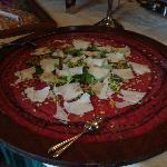 That sure looks like good carpaccio to me!